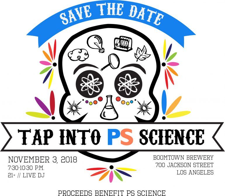tap into ps science fundraiser kcrw events