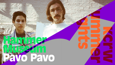 KCRW Summer Nights at the Hammer Museum with Pavo Pavo