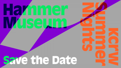 KCRW Summer Nights at the Hammer Museum