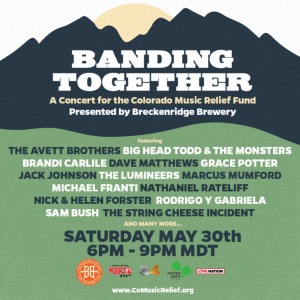 Banding Together: A Concert For the Colorado Music Relief Fund