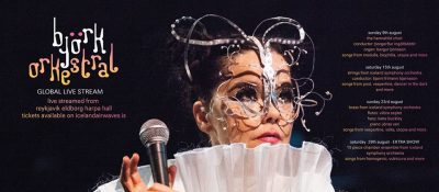 Björk with 15-Piece Chamber Ensemble