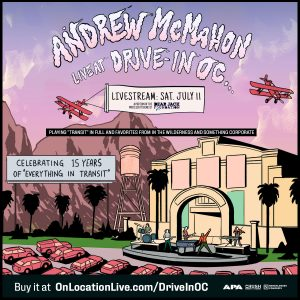 Andrew McMahon: Live at Drive-In OC