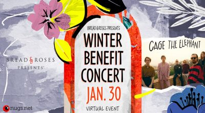 Cage The Elephant: Bread and Roses' Winter Benefit