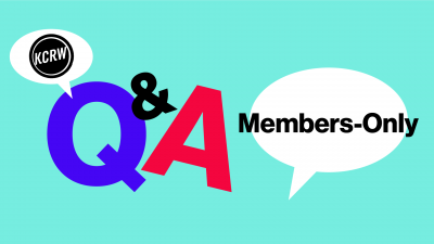 Members-Only Q&A with KCRW News