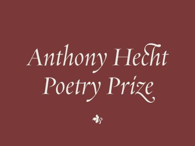 Anthony Hecht Poetry Prize Reading