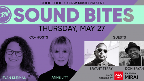 Sound Bites with Bryant Terry & Don Bryant on Thurs May 27th at 7pm PDT