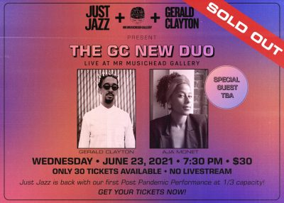 Just Jazz: The GC New Duo