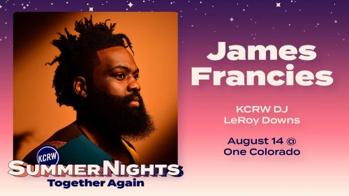 Summer Nights at One Colorado with James Francies and LeRoy Downs