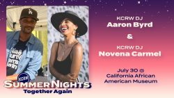 Summer Nights at CAAM with Aaron Byrd and Novena Carmel